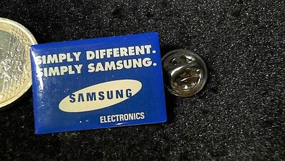 Samsung Pin Badge Slogan simply different