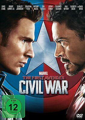 The First Avenger: Civil War - (Marvel) # DVD-NEU