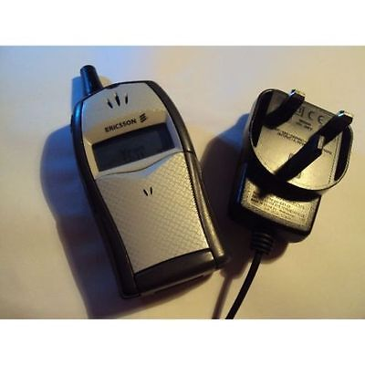 Easy Simple Retro Ericsson T20E On Virgin/t-Mobile+Charger