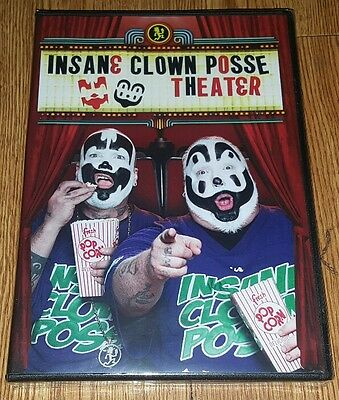 NEW SEALED INSANE CLOWN POSSE THEATER DVD SEASON 1 & 2 ICP *LAST 1* twiztid