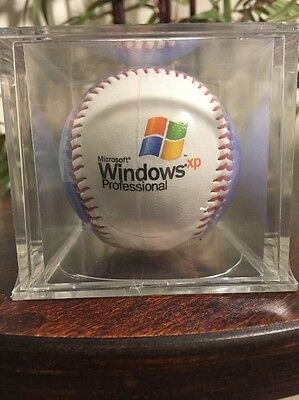 Microsoft Windows XP Professional Collect Baseball in case Sealed NEW RARE