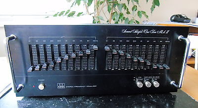 Adc Sound Shaper One Ten Mk Ii Graphic Equalizer Ss 110 Mkii 10 Band