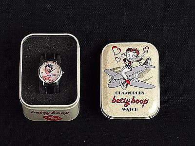 Glamorous Betty Boop Wristwatch Analog Quartz Watch With Tin