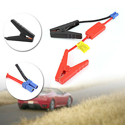 1 pc 10 AWG Silicone Wire Booster Cable Emergency Car Battery Jumper Charger AF