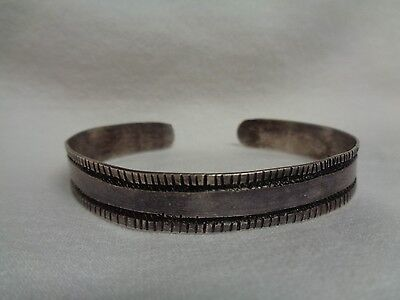 Very Early Navajo Ingot Bracelet Old circa 1880 Rare