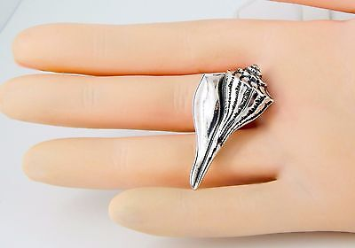 RARE Retired James Avery Sterling Shell Pin--MINT