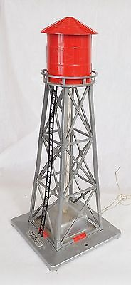 American Flyer #772 Bubbling Water Tower Red Used No Box