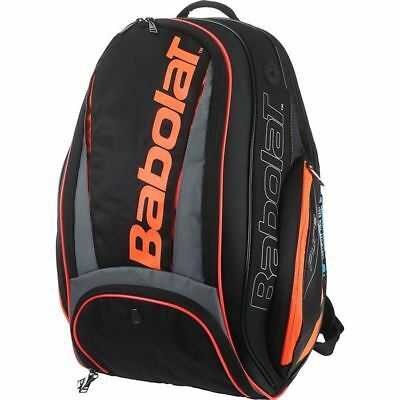 Babolat Pure Black/Red backpack + Free 3pack overgrip