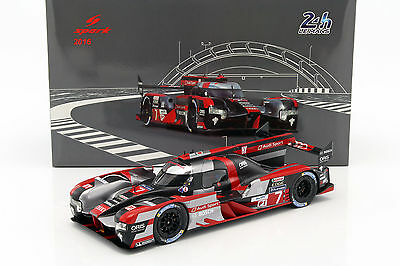 Audi R18 #7 4th 24h LeMans 2016 Lotterer, Fässler, Treluyer 1:18 Spark