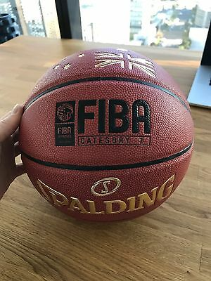 Spalding Official NBA Leather Game Ball Indoor Basketball BRAND NEW UNUSED