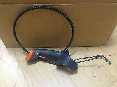 Stihl Br600 Back Pack Blower Throttle Handle Cable Electrics Genuine Still Parts
