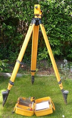 CARL ZEISS JENA NI 040A Theodolite Tripod Surveying Automatic Level