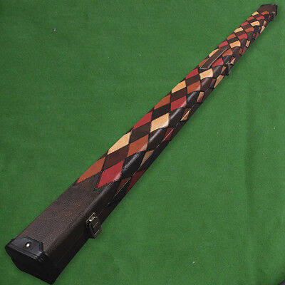 Brand New 1 Piece Deluxe Design Snooker Cue Case Holds 2 Cues