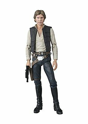BANDAI S.H Figuarts Star Wars Han Solo A New Hope Painted Action Figure Japa...