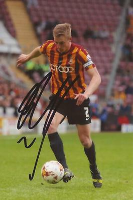 BRADFORD: STEPHEN DARBY SIGNED 6x4 ACTION PHOTO+COA
