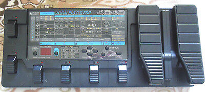 Zoom PLAYER PRO 4040 guitar effects processor midi foot controller made in Japan