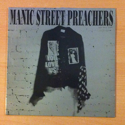 "MANIC STREET PREACHERS  "" You Love Us"" -  Vinyl  12"" - COL 657724 6 - 1992 Spain"