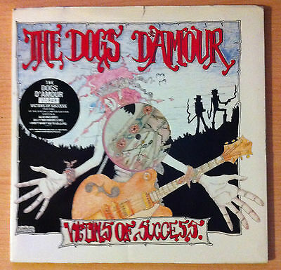 "THE DOGS D´AMOUR ""Victims Of Success ""- Vinyl 12"" Limited Edition, Blue +7"" Pink"