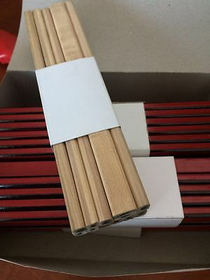 Plain Natural Wood Carpenter Carpenters Pencils
