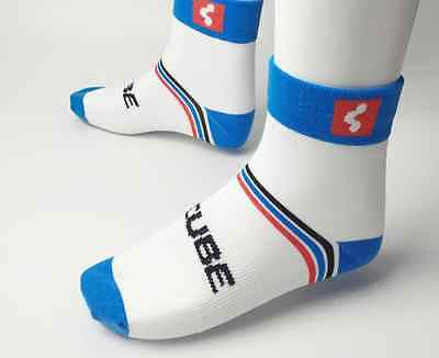 NEW 2017 Official Cube Team Shimano Cycling Socks UK Size Adult