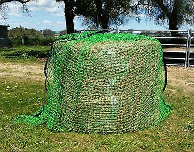 GutzBusta Round Bale Slow Feed Hay Net - NEW 60ply 4cm 4x4 with FREE REPAIR KIT