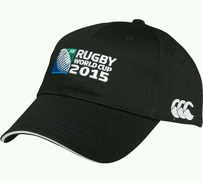 Rugby World Cup 2015 - Canterbury Cap - BLACK - Official Product