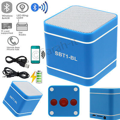 POWERFUL Portable Wireless Bluetooth Stereo Speaker, Support FM Alarm TF USB Mic