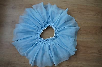 *Hardly worn* Next Baby Girls Blue Tutu Skirt Summer Party Age 12-18 Months