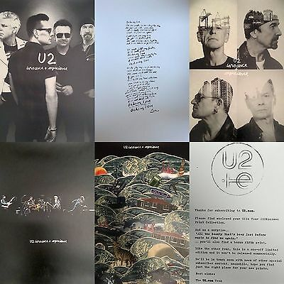 U2 Limited Edition Silkscreen Print Collection Posters - Songs of Innocence