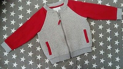 Lovely baby boys the little white company jacket cardigan age 18 - 24 months