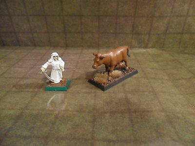 25mm / 28mm Primed Cow Animal. Pathfinder Dnd Roleplaying. Minees
