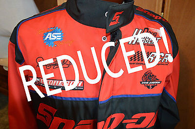 New Large Snap-On Racing Jacket, Dale Earnhardt,, Doug Herbert, Steve Johnson