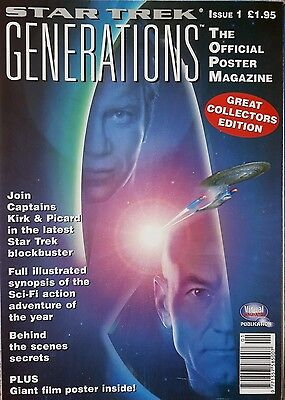 Star Trek Generations  The Official Poster Magazine  Issue 1