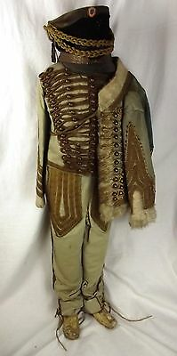 Circa 1800 Childs Hussars Uniform
