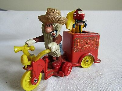 Vintage 70's Corgi Magic Roundabout - Mr Mc Henry's Trike With Pop Up Zebedeey