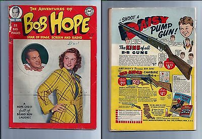 Adventures of Bob Hope #2 TV Golden Comedy Movie Complete Fair+