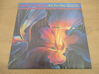 "Ronnie Laws ‎–All For You Vinyl 12"" Special Disco Mix UK78 Jazz Funk 12 UP 36481"