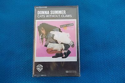 "musicassetta Donna Summer "" CATS WITHOUT CLAWS"""