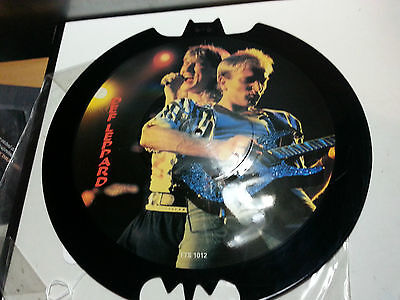 Def Leppard,Limited Edition Interview Picture Disc, 1989,  Tell Tales, TTS 101