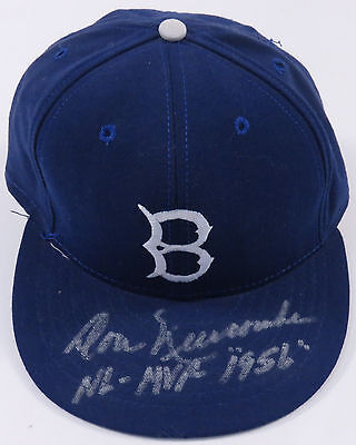 Don Newcombe Brooklyn Dodgers Autographed Signed Hat Cap American Needle Mlb Hof