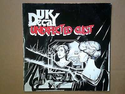 Vinile 45 giri UK DECAY - UNEXPECTED GUEST 1981 Vg/Ex+