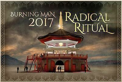 2 Tickets + 1 Vehicle Pass 2017 Burning Man. Ship or transfer on ticketfly.com