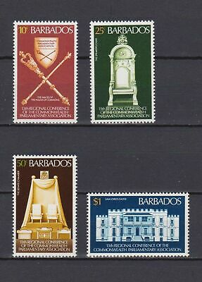 s16792) BARBADOS  MNH** Nuovi** 1977 Commonwealth conference 4v