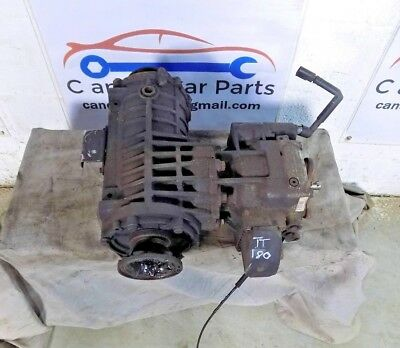 Audi Tt S3 R32 Quattro Breaking Rear Haldex Differential 02D525554 Ad