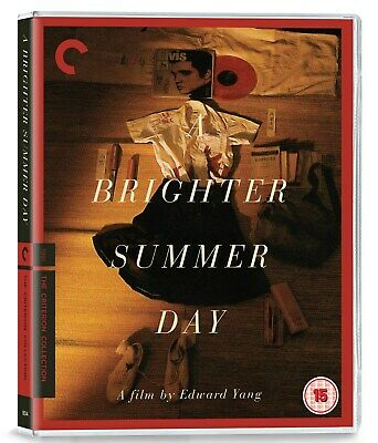 A Brighter Summer Day - The Criterion Collection (Restored) [Blu-ray]