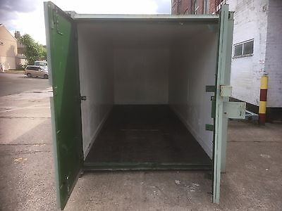 20ft x 8ft insulated high security shipping container