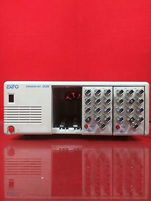 EXFO IQ-206 Expansion Unit w/Two IQ-9100 Optical Switch Modules