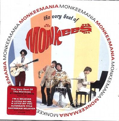 The Monkees .. Very Best Of:  57 Original Classic Tracks .. 2 Cd's .. Oldies