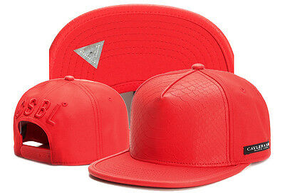 Cayler And Sons Snapback Flat Peak Cap Red