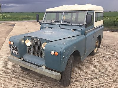 LAND ROVER SERIES 2A..SWB..1968 OVERDRIVE...long mot, great chassis & bulkhead.